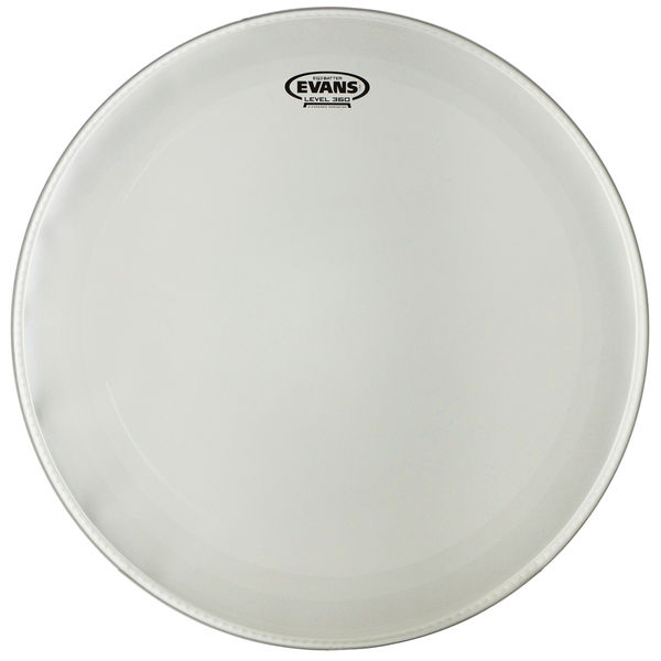 """Evans 22"""" EQ3 Bass Drum Frosted"""