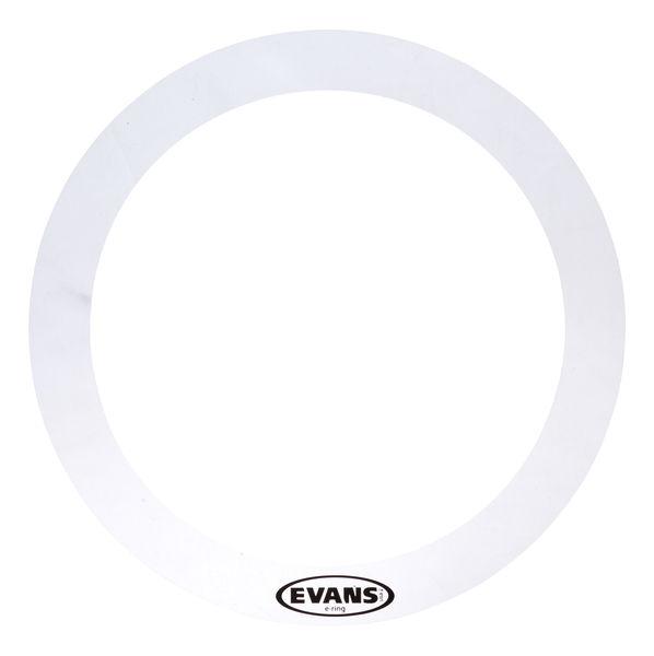 """Evans E-Ring 10"""" Clear Tom"""