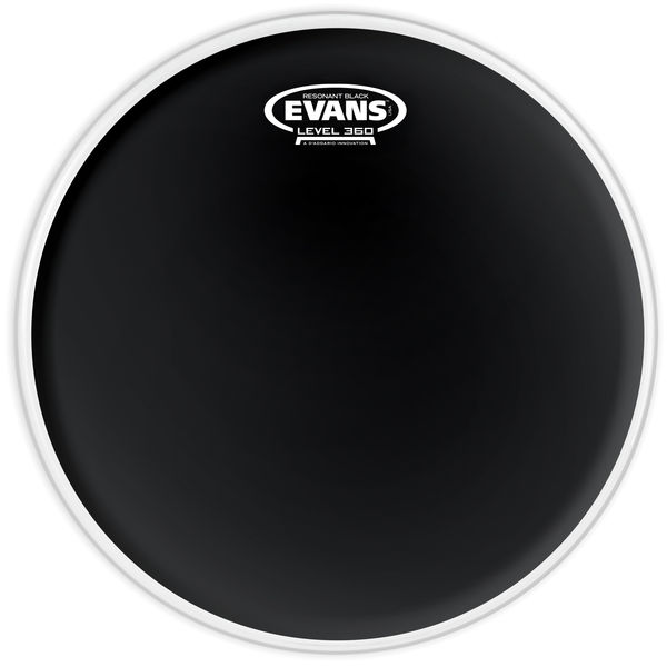 "Evans 12"" TomTom Resonant Head Black"