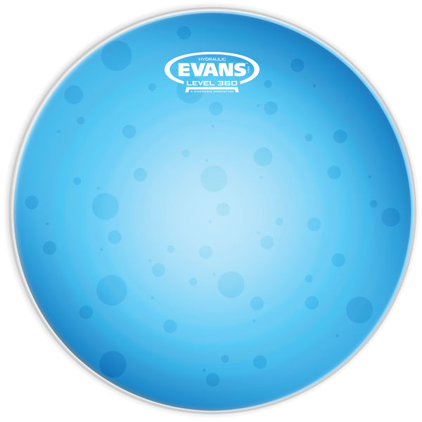"Evans 10"" Hydraulic Blue Tom"