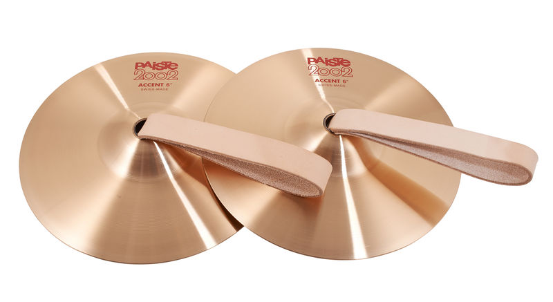 "Paiste 2002 06"" Accent Cymbal Pair"