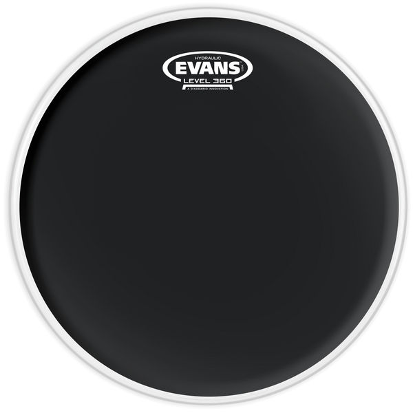 """Evans 13"""" Hydraulic Black Tom"""