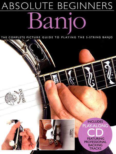 Amsco Publications Absolute Beginners Banjo