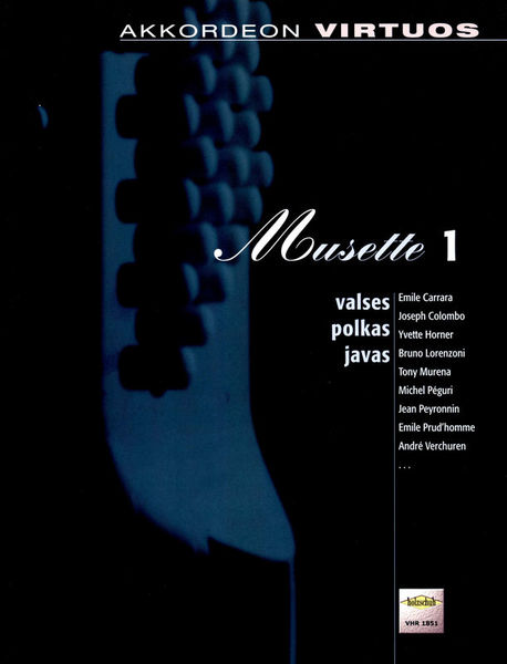 Holzschuh Verlag Akkordeon Virtuos Musette 1