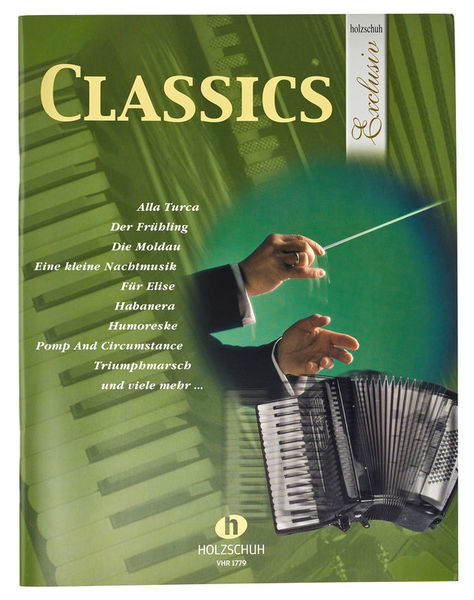 Holzschuh Verlag Classics Accordion