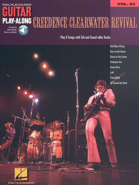 Hal Leonard Guitar Play-Along Creedence CR