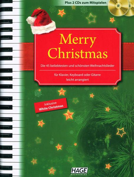 Hage Musikverlag Merry Christmas PVG + CD