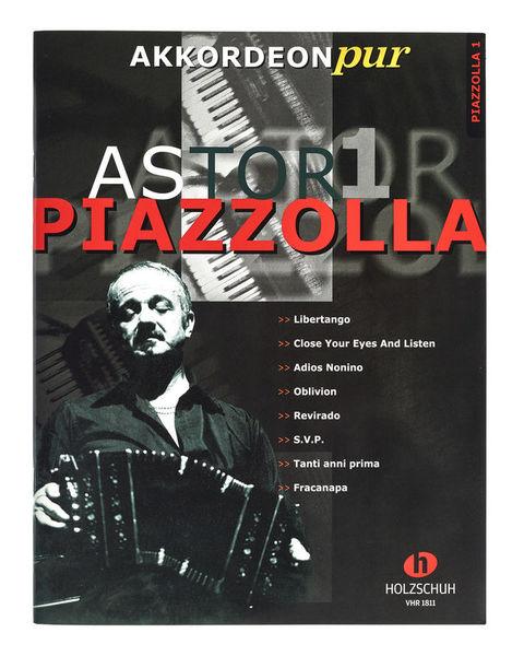 Holzschuh Verlag Akkordeon Pur A.Piazzolla 1