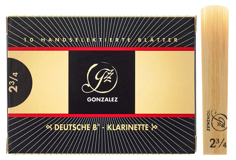 Gonzalez Clarinet Reed German 2.75