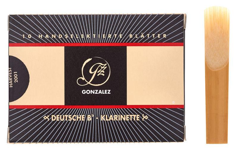 Gonzalez Clarinet Reed German 3.0
