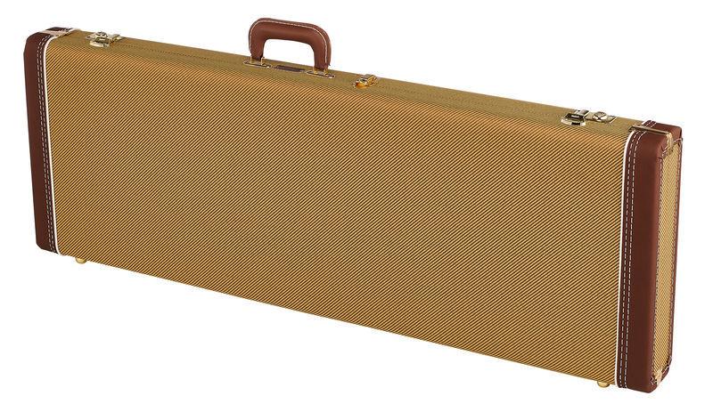 Fender G&G Dlx Strat/Tele Case Tweed