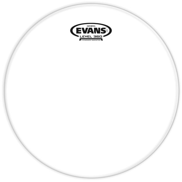 "Evans 14"" Resonant Head Tom Clear"