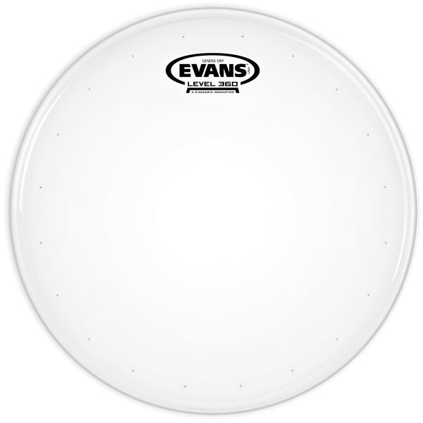 "Evans 13"" Genera Dry Coated Snare"