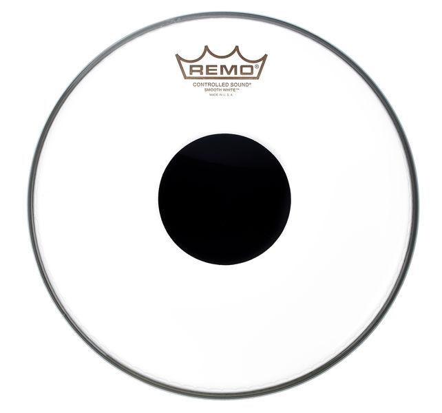 "Remo 10"" CS White Smooth"