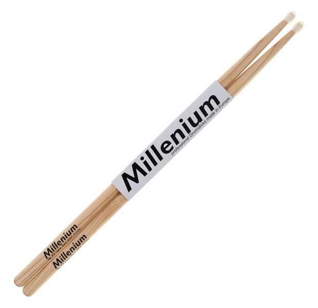 Millenium H7AN Hickory Sticks -Nylon-