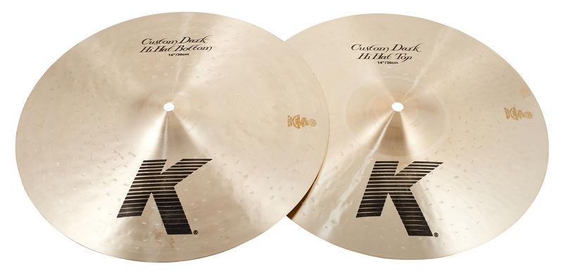 Zildjian 14 K Custom Dark Hi Hat Bottom Cymbal