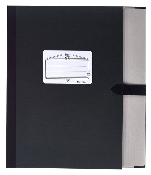 Star Music Folder 111a/5 Black
