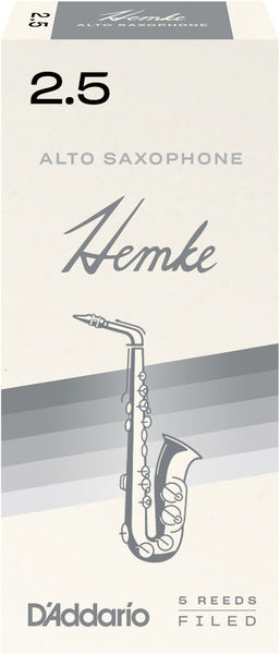 DAddario Woodwinds Hemke Alto Saxophone 2.5