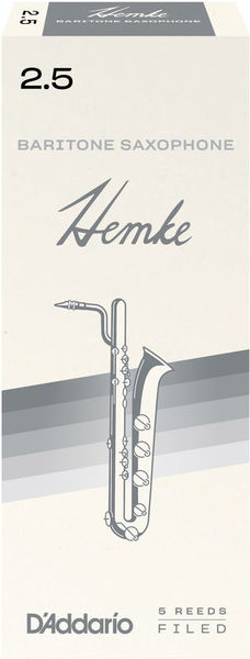 DAddario Woodwinds Hemke Baritone Saxophone 2.5