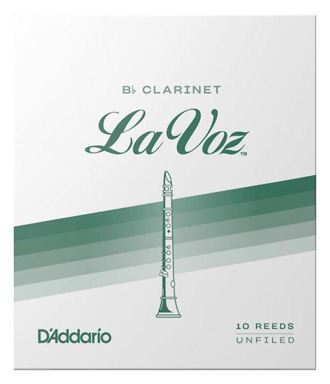 DAddario Woodwinds La Voz Bb- Clarinet M