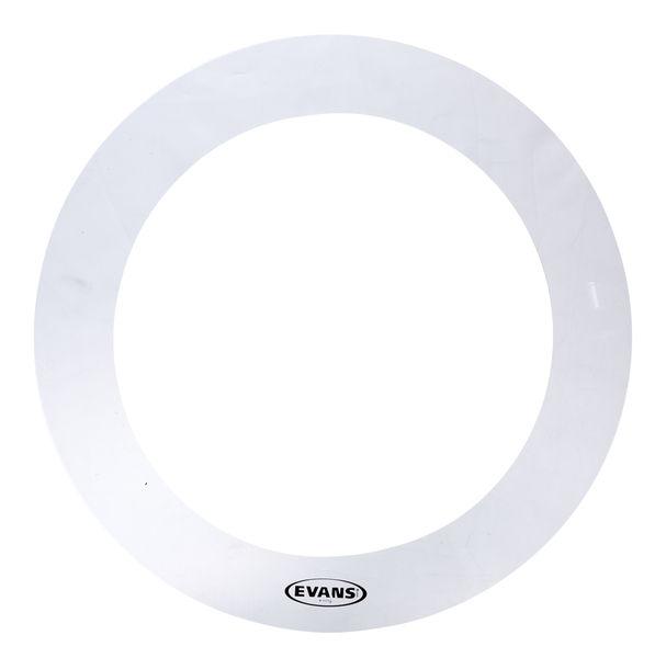 """Evans E-Ring 15"""" Clear Tom"""