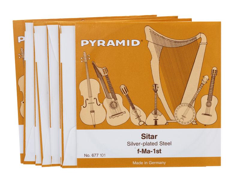 Pyramid Sitar Strings 677/18