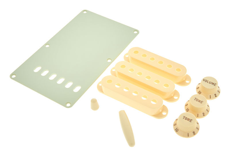 Fender Strat Accessory Kit Aged White