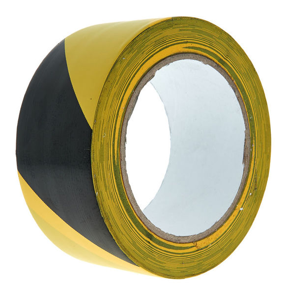 Stairville Warning Tape Black/Yellow