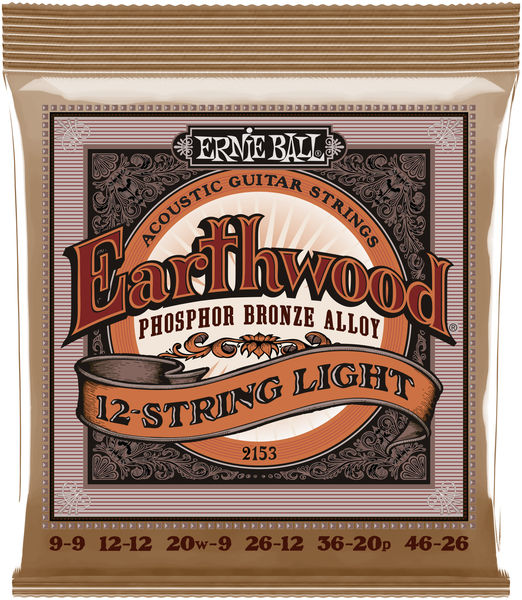 Ernie Ball 2153 Earthwood Phosphor Bronze