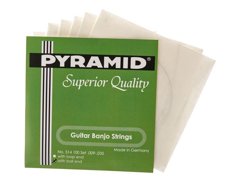 Pyramid Banjo 6-string Ball End