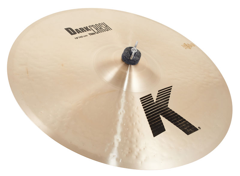 "Zildjian 18"" K-Series Dark Thin Crash"