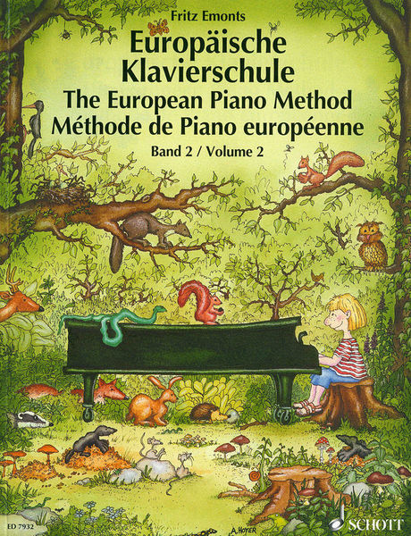 Schott Europäische Klavierschule 2