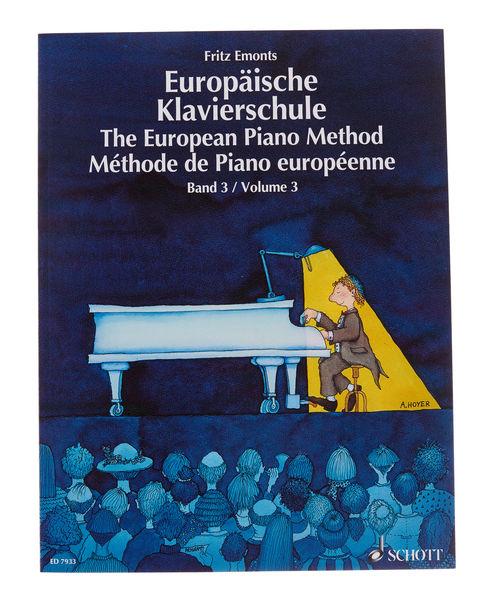 Schott Europäische Klavierschule 3