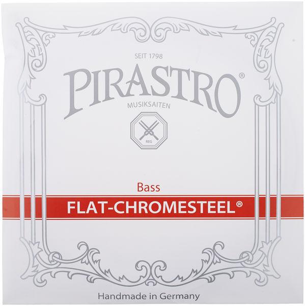 Pirastro Flat Chromesteel Bass 4/4-3/4
