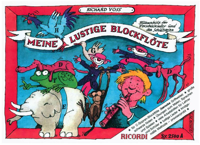 Ricordi Lustige Blockflöte 1 Barock