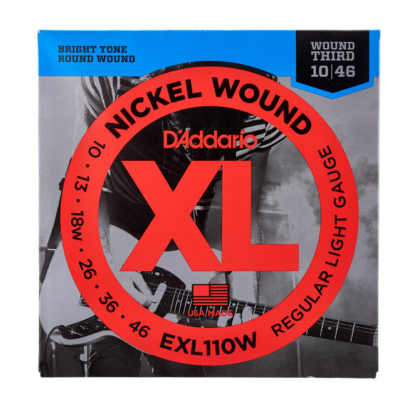 Daddario EXL110W