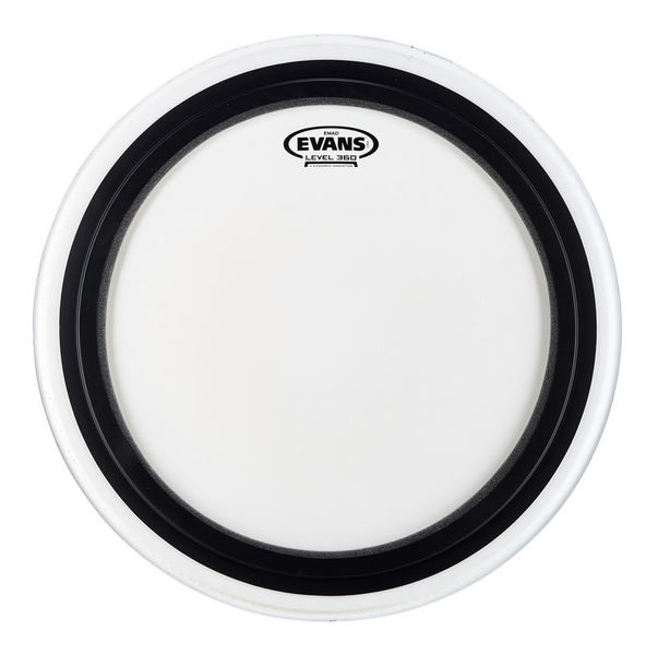 """Evans 18"""" EMAD Coated Bass Drum"""