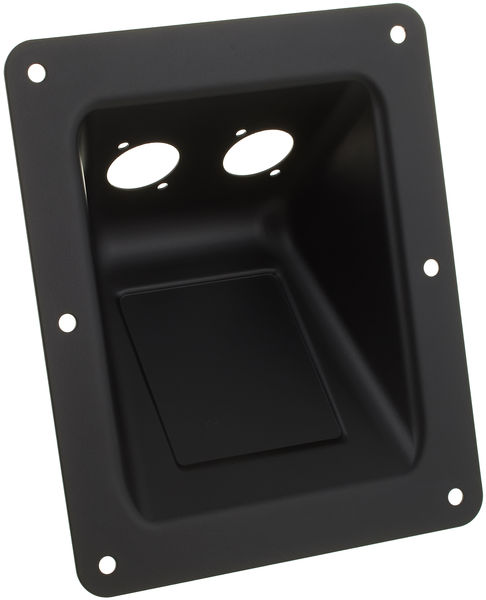 Adam Hall 87160 Dish D-Type Sockets blk