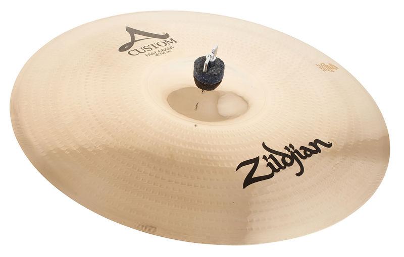 """Zildjian 18"""" A-Custom Fast Crash Brill."""