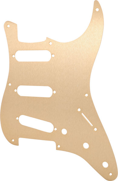 Fender Pickguard SSS Gold Anodized