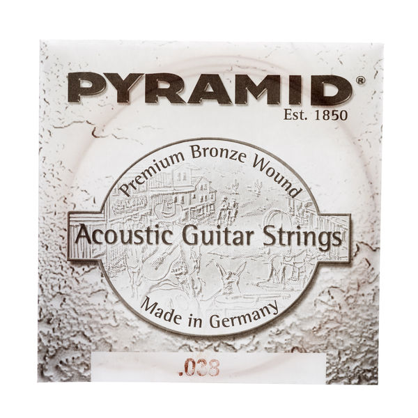 Pyramid 038 Single String