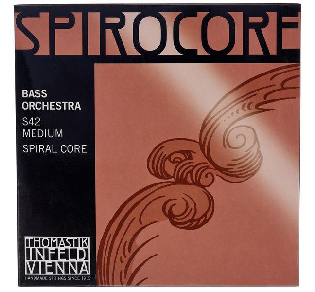 Thomastik Spirocore Double Bass 4/4 med