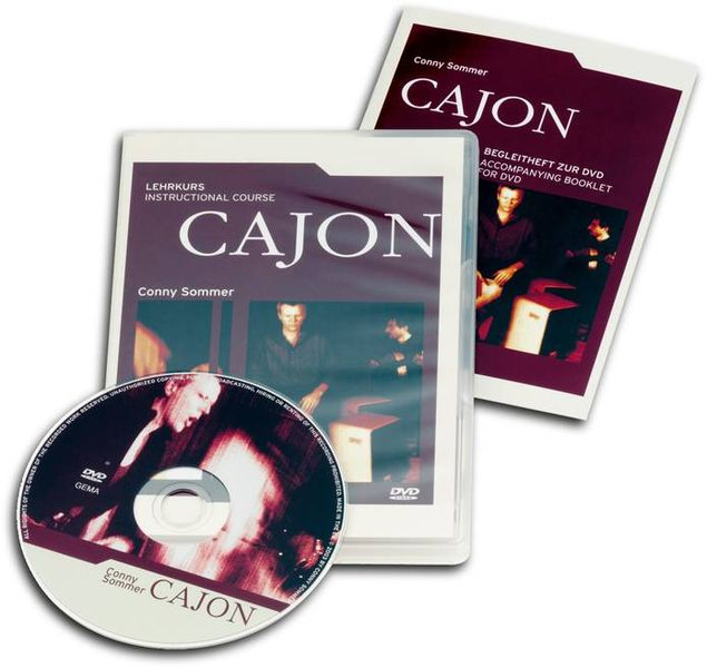 Schlagwerk Lehrkurs Cajon DVD