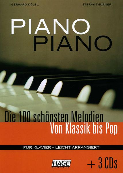 Hage Musikverlag Piano Piano 1 Easy + 3 CDs