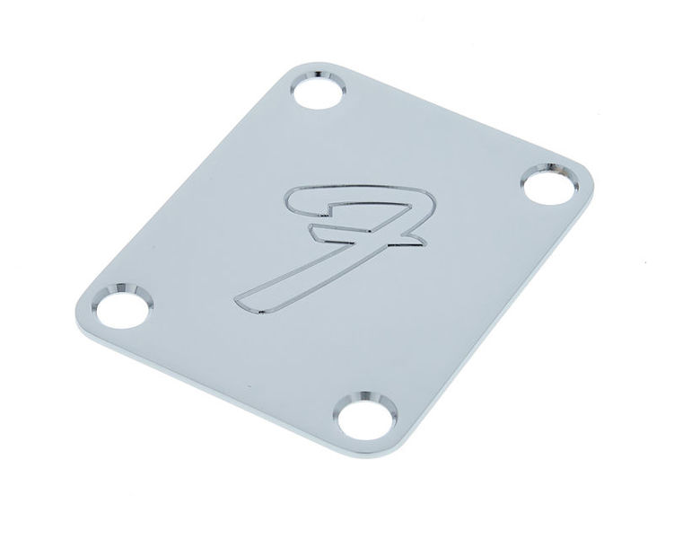 "Fender Neck Plate 4 (big ""F"")"