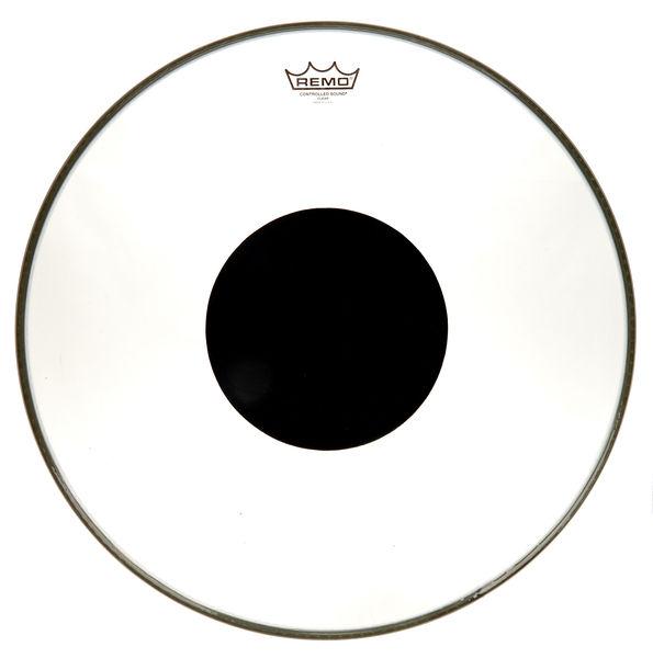 "Remo 20"" CS Black Dot Bass Drum"