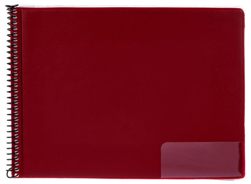 Star Marching Folder 146/10 Red