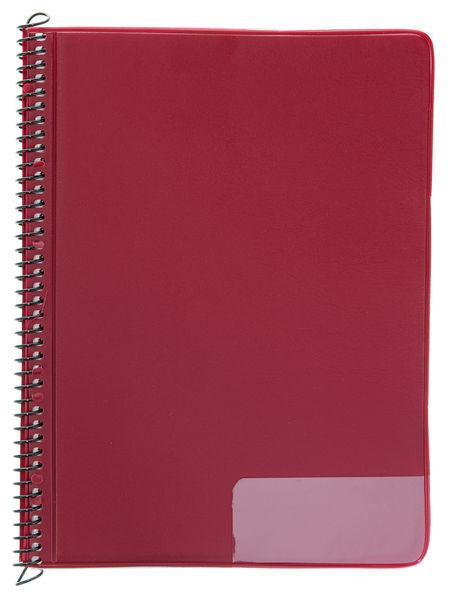 Star Marching Folder 145/25 Red