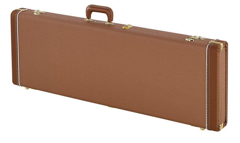 Fender G&G Dlx Strat/Tele Case Brown
