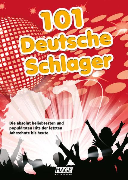 Hage Musikverlag 101 Deutsche Schlager